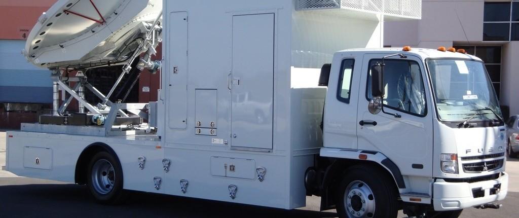Mobile Satellite Uplink Truck