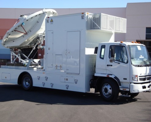 Mobile Satellite Uplink Truck