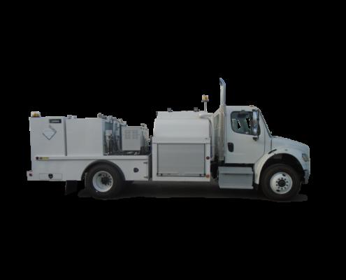 Truck Body Fuel / Lube Body