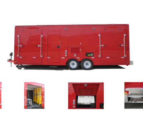 Specialty Vehicle - Decontamination Trailer