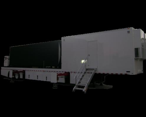 Mobile jumbo-tron screen