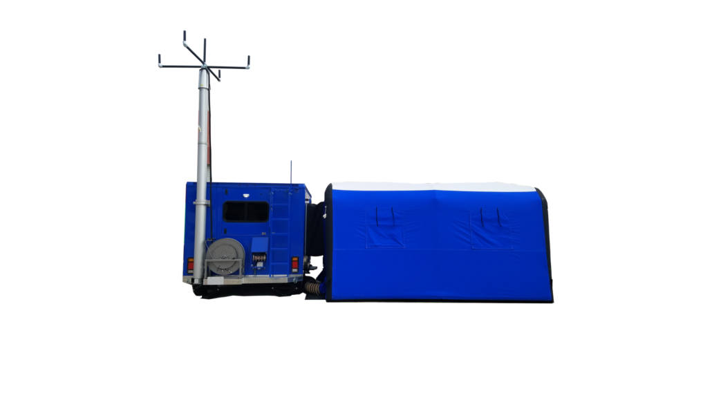 Air Transportable Trailer Air Transportable Trailer ...  sc 1 st  Rolltechs Specialty Vehicles & Air Transportable Trailer with Zumro Tent - Rolltechs Specialty ...