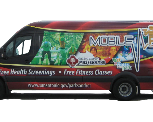 Specialty Vehicle - Fitness van