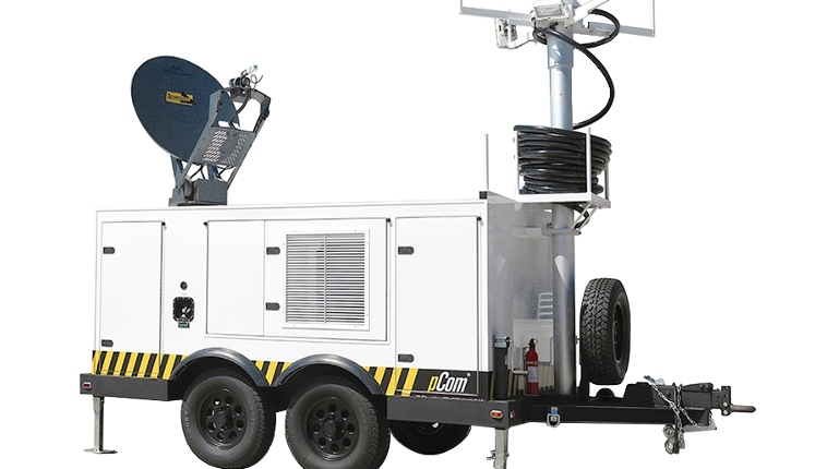 Specialty Satellite Trailer
