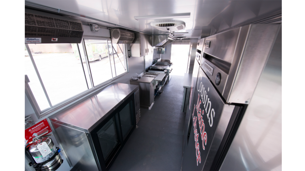 Step Van Food Truck Interior