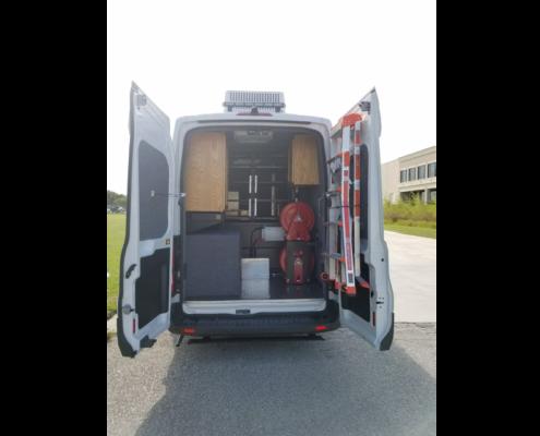 Specialty Vehicle - air sampler