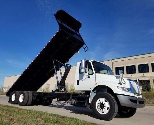 Truck Body - Flatbed Dump