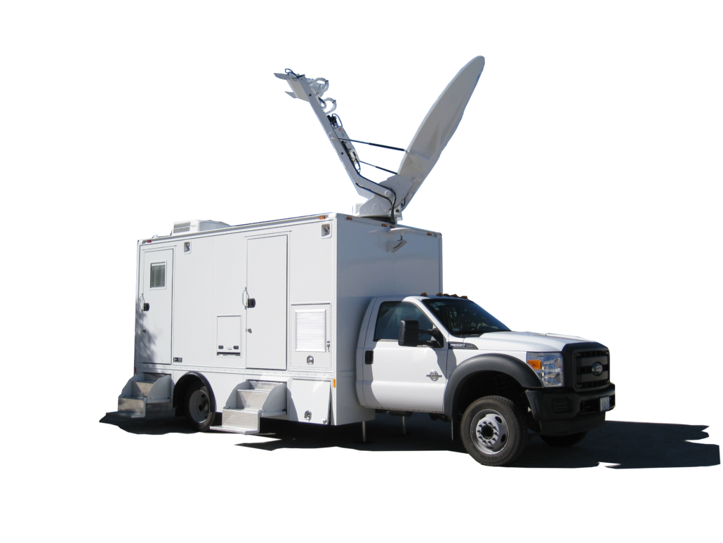 Satellite Up Link Truck