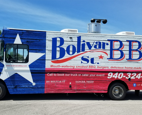 Stepvan Food Truck - Bolivar